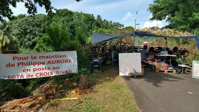 Les accès du LEGTA de Croix-Rivail libérés par les gendarmes