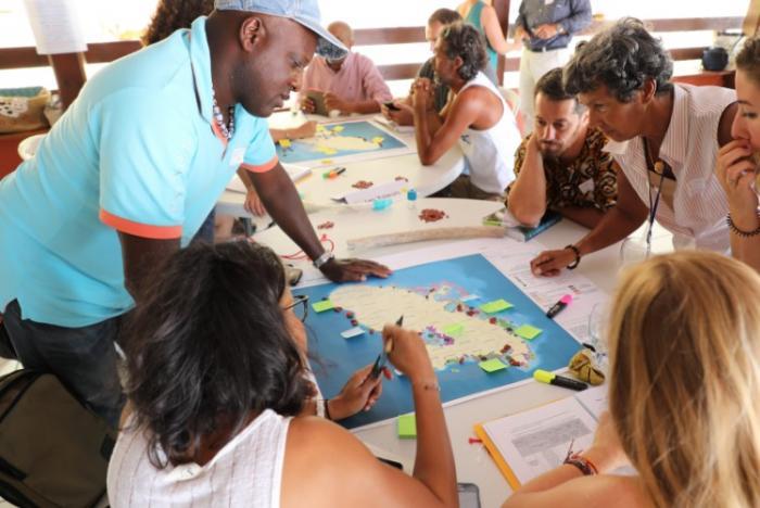 Les ateliers de concertation lancés par le Parc naturel marin de Martinique