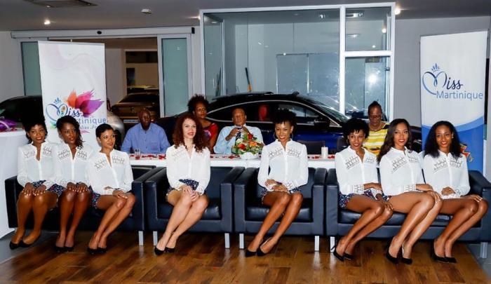 Les candidates de Miss Martinique en pleine préparation