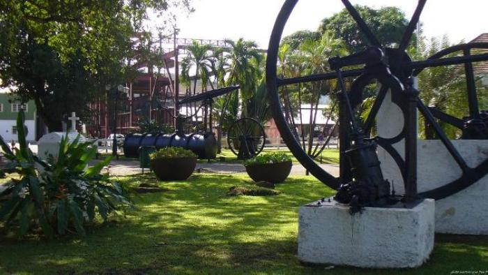 Les chemins de fer d'habitation à la Martinique...