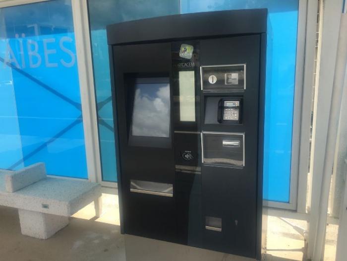 Les Distributeurs Automatiques de Titres de Transports font leur apparition aux arrêts du BHNS