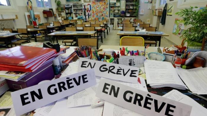 Les enseignants confirment le mouvement de grève de lundi
