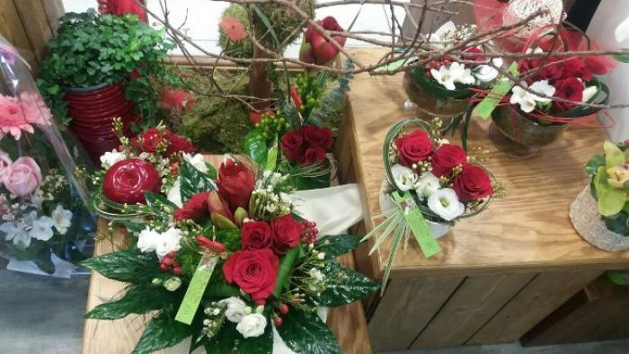 Les fleurs à l'honneur pour la Saint-Valentin
