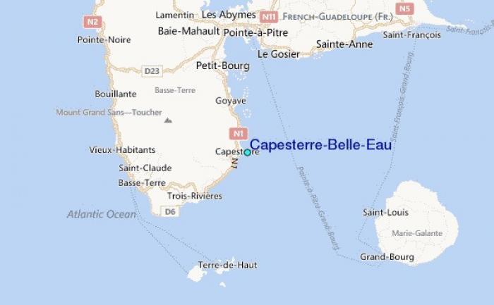Les forces de l'ordre sur la trace du tireur de Capesterre-Belle-Eau