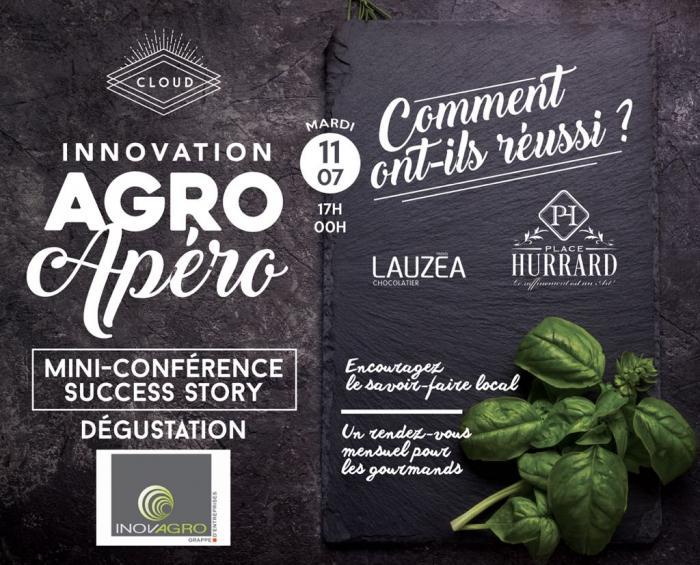 « Les Frères Lauzéa » et « Place Hurrard »  premiers invités des Agro apéros