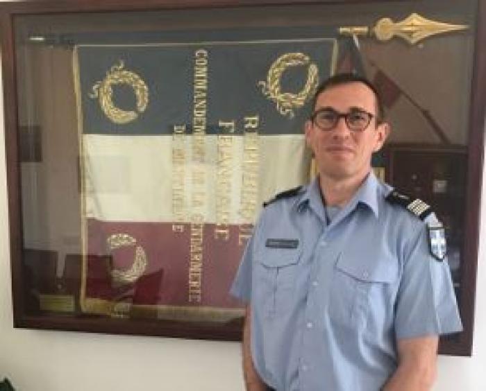 Les gendarmes de Martinique ont un nouveau patron