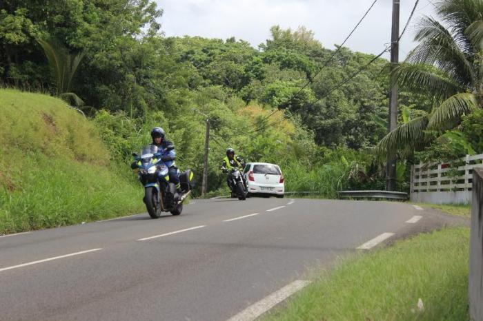 Les gendarmes usent de prévention envers les motards