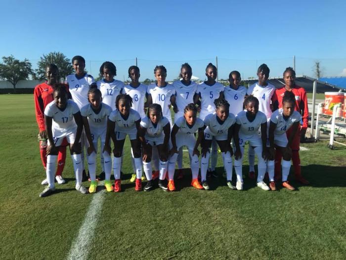 Les jeunes footballeuses martiniquaises obtiennent de bons résultats aux Etats-Unis