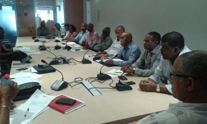 Les maires et la CGTM SOEM autour de la table
