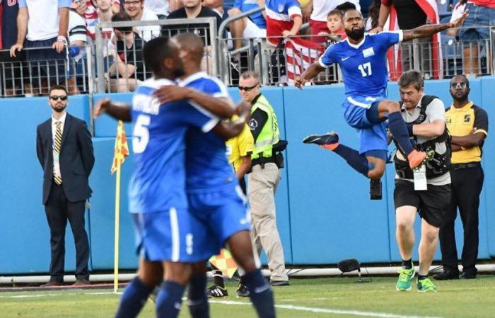 Les Matinino dominent le Nicaragua à la Gold Cup (2-0)