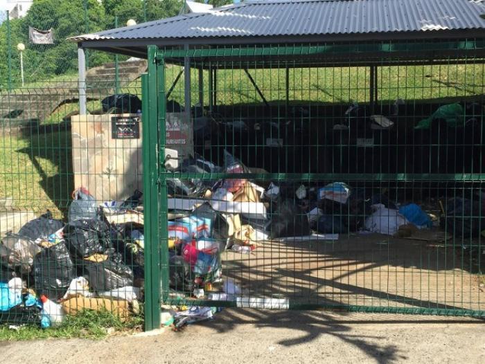 Les ordures s'amoncellent dans la Cacem