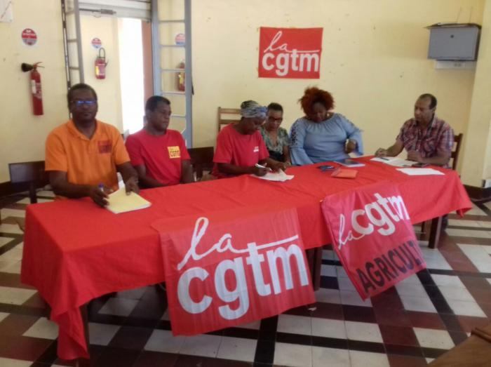 Les ouvriers de la banane de Martinique et de Guadeloupe unis contre le chlordécone