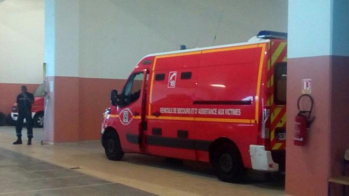 Les pompiers de Fort-de-France sont à pieds