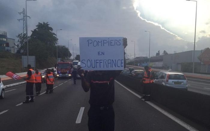 Les pompiers se mobilisent une fois de plus !