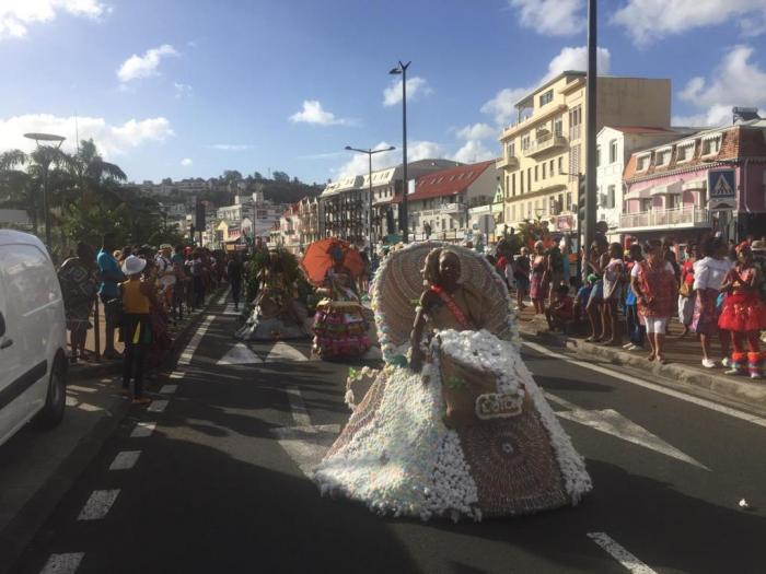 Les reines du carnaval ont défilé samedi