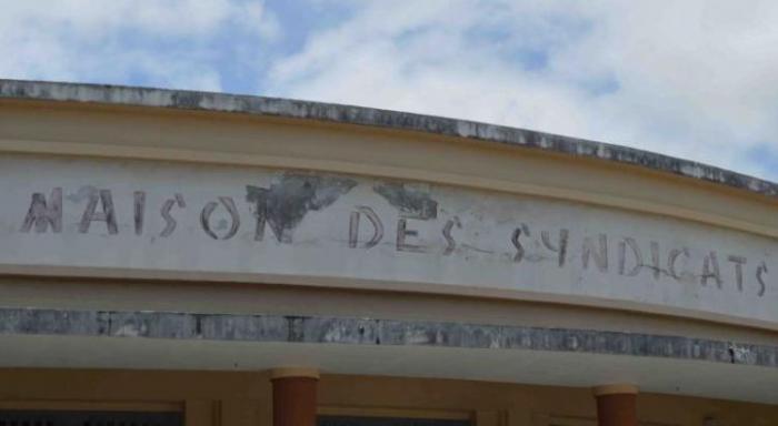 Les retraités réunis à la maison des syndicats à Fort-de-France, ce jeudi