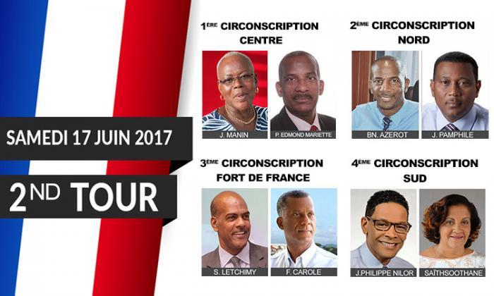 Les réactions des huit finalistes des législatives 2017