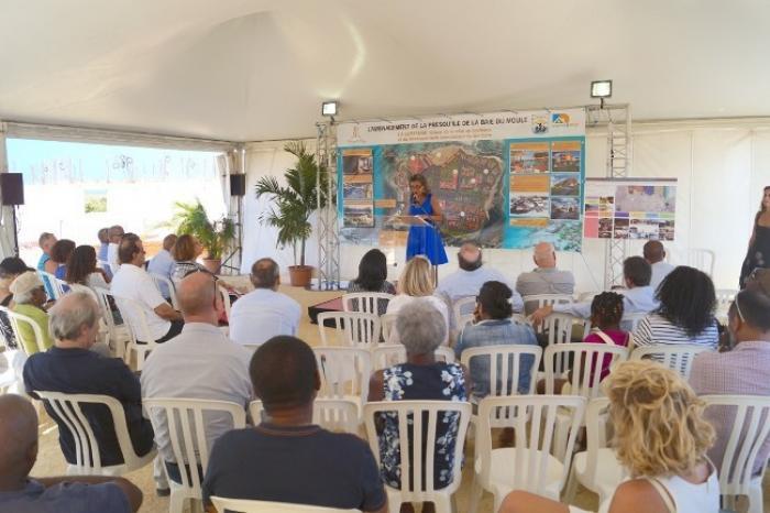 Les ruines de l'hôtel Royal Caraïbes laissent place au projet de la Semsamar