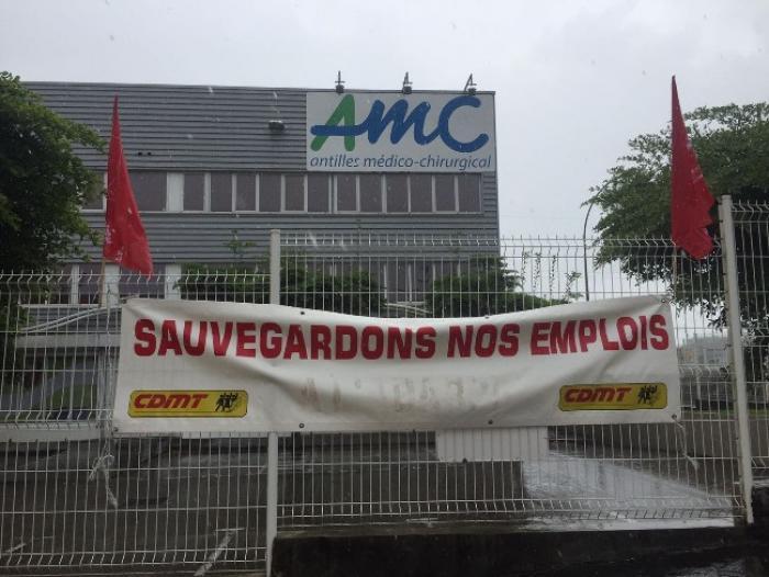 Les salariés de AMC Biomédical poursuivent leur grève