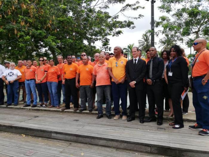 Les sauveteurs en mer de Martinique rendent hommage à leurs collègues décédés