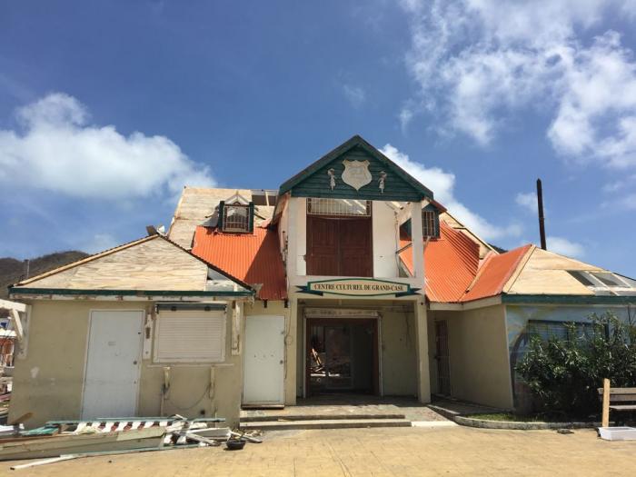 Les sinistrés de Grand Case déjà tournés vers la reconstruction