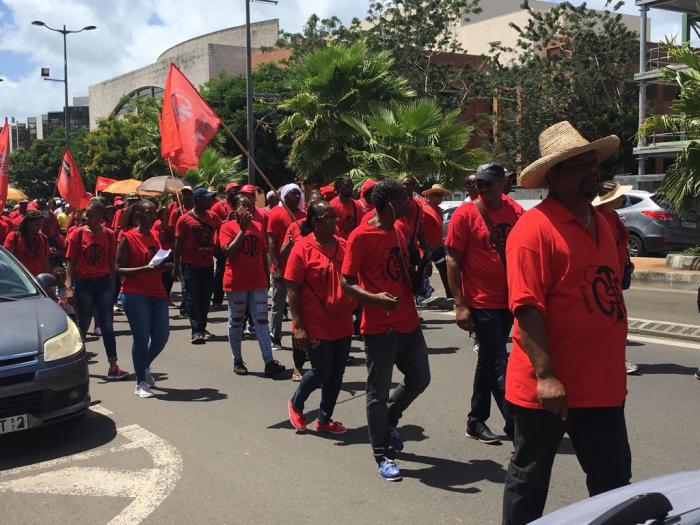 Les travailleurs dans les rues, ce mardi