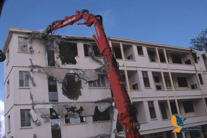 Les travaux de reconstruction du Lycée Schœlcher ont débuté