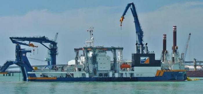 Les travaux du grand port ont débuté