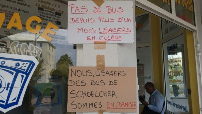 Les usagers des bus de Terreville soutiennent les chauffeurs de la Sotravom