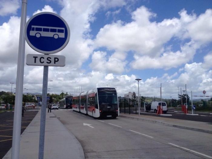 Les voies du TCSP sont interdites à toute circulation