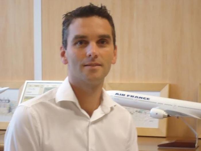 Lionel Rault, nouveau directeur local d'Air France en Martinique