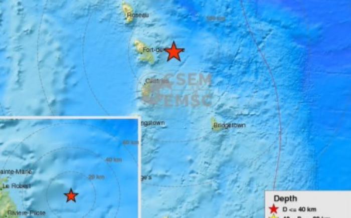 Léger séisme en Martinique, ce samedi matin