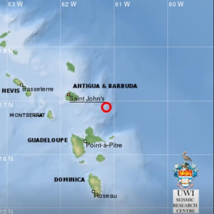 Léger tremblement de terre ce vendredi soir
