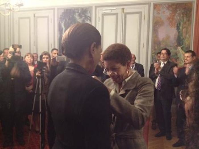 """Légion d'honneur pour Mounia : la """"médaille de la récompense"""""""
