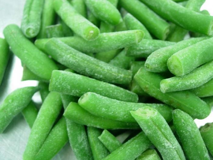 Lots de haricots verts D'Aucy et Cuisine de France retirés des rayons