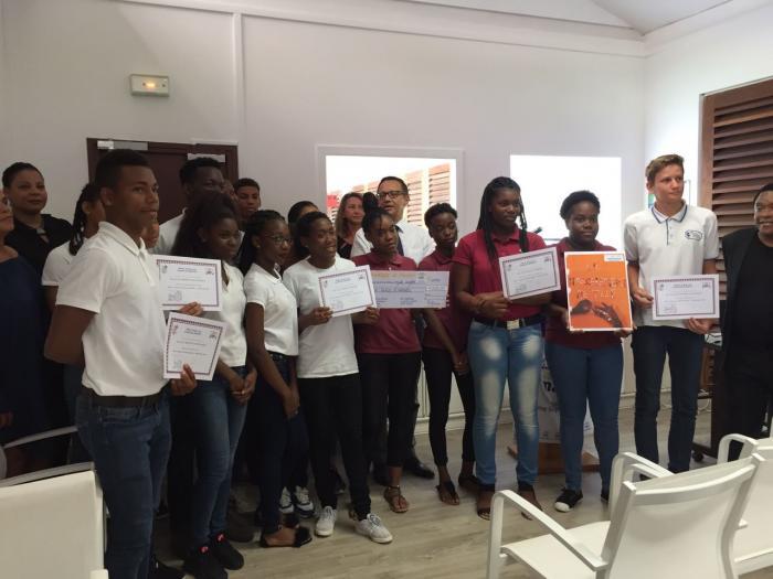 Lutte contre le harcèlement : des prix remis à des lycéens