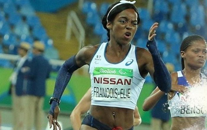 Mandy François-Elie termine cinquième de la finale du 400m (T37)