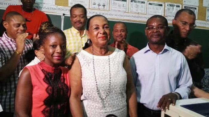 Marcel Sigiscar et Sandra Enjaric remportent l'élection cantonale partielle à Pointe-à-Pitre