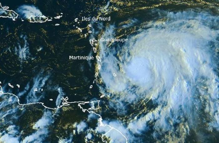 Maria devient un ouragan de catégorie 1