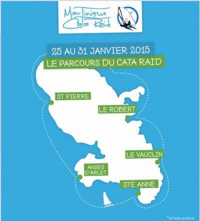 Martinique Cata Raid : les martiniquais arrivent en 3 ème position