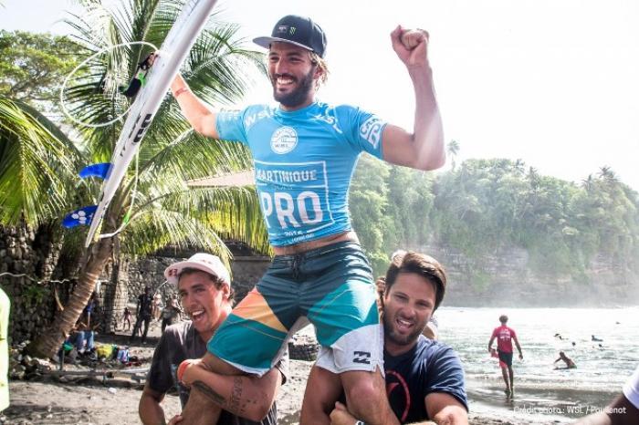 Martinique Surf Pro : Frédérico Morais remporte la 2ème édition.