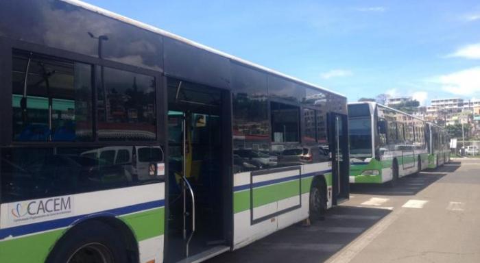 Martinique Transport annonce la reprise du service de bus à Schoelcher.