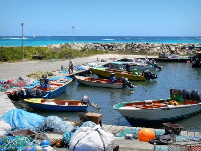 Matthew : Capesterre-de-Marie-Galante sans port de pêche