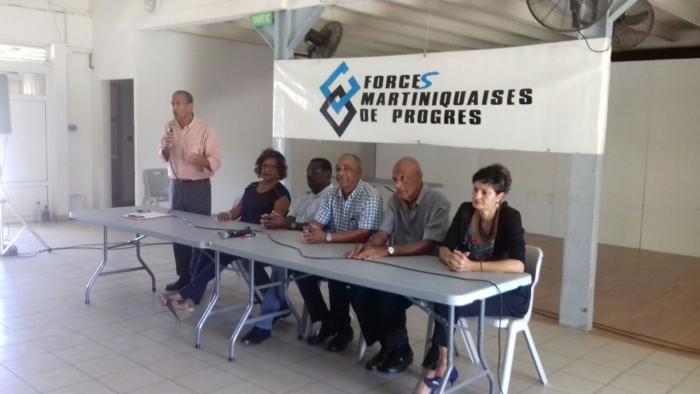 Meeting de début d'année chez les Forces Martiniquaises de Progrès