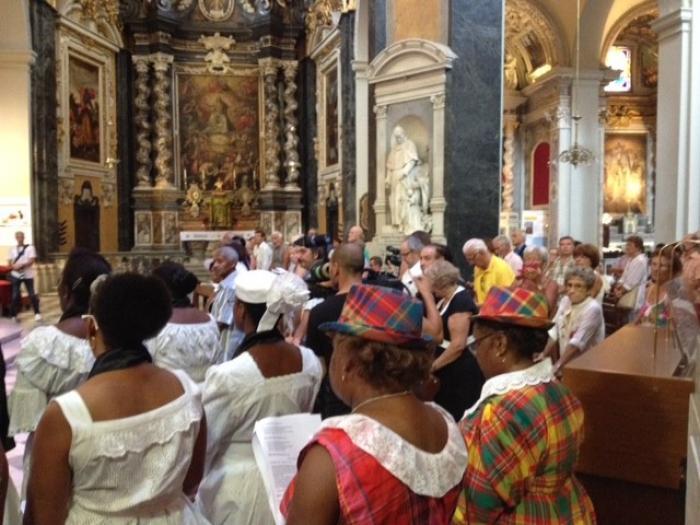Messe créole pour les victimes de Nice