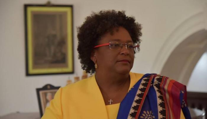Mia Mottley, première femme à devenir premier ministre de la Barbade