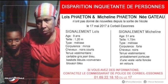 Micheline et Loïs Phaëton retrouvés sains et saufs