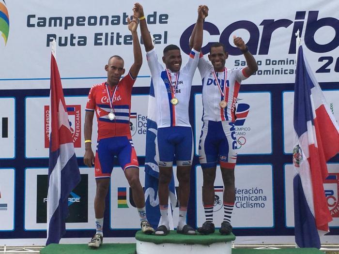 Mickaël Stanislas est champion de la Caraïbe de cyclisme