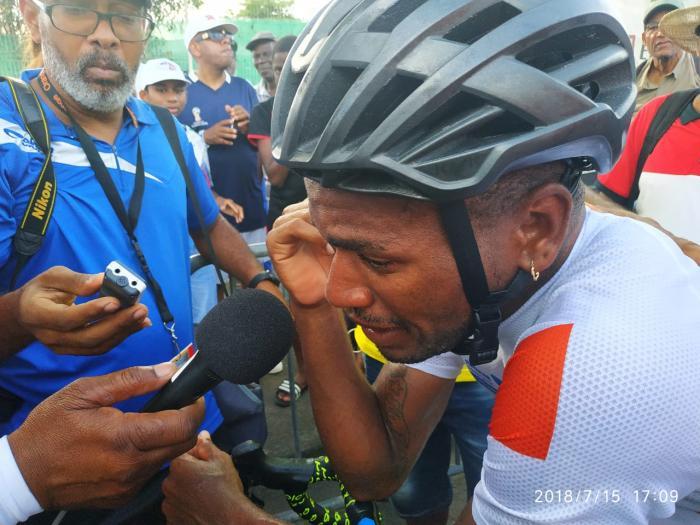 Mickaël Stanislas remporte le 37e tour cycliste de Martinique