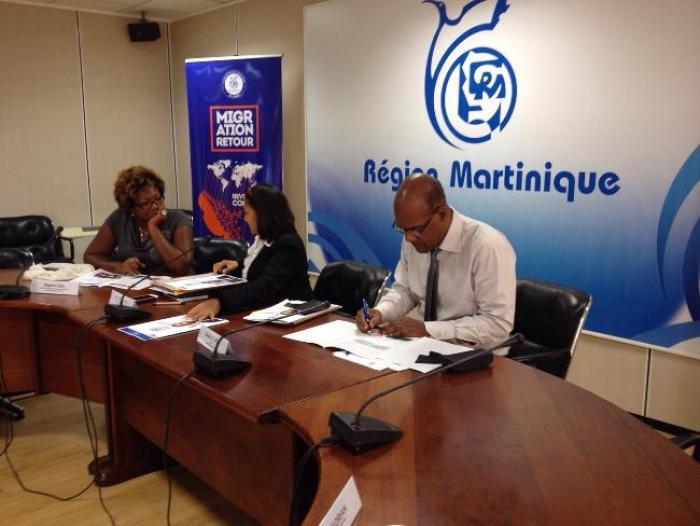 Migration Retour : le dispositif de la Région Martinique sur les rails